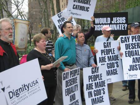 Acoger gays católicos en la Iglesia