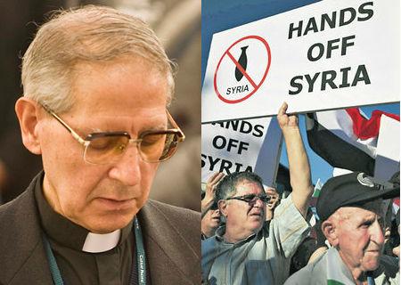 Adolfo Nicolás en contra ataque Siria