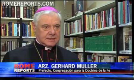 Francisco confirma a prefecto Gerhard Muller