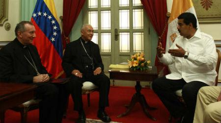 Pietro Parolin - Nicolás Maduro