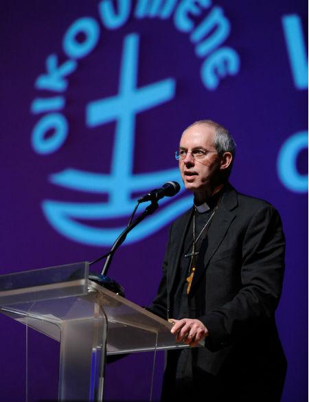 Arzobispo Welby en el Consejo Mundial de Iglesias