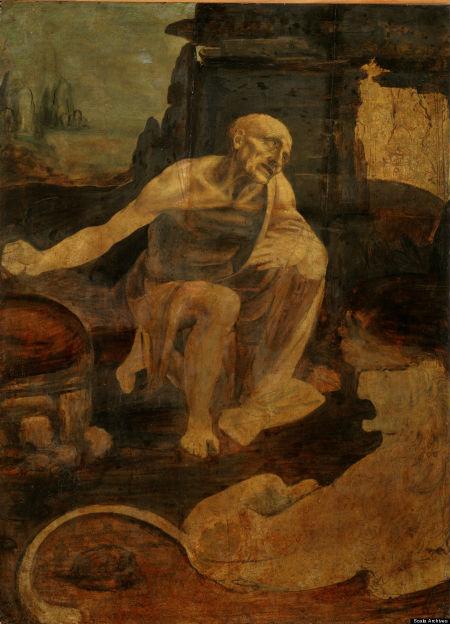 Leonardo da Vinci: Pinacoteca, St. Jerome