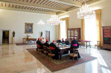 Reuniones decisivas en El Vaticano