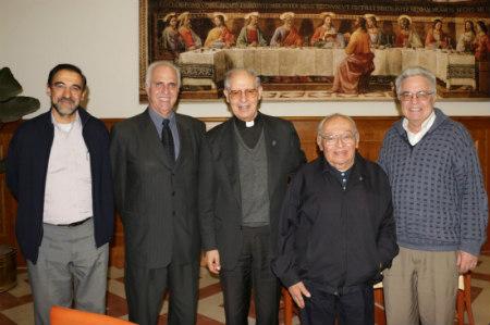 Rector de la PUCP Marcial Rubio en Roma invitado por cardenal Muller