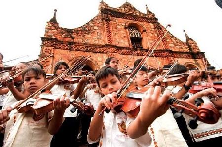 Evangelización Chiquitania Arte