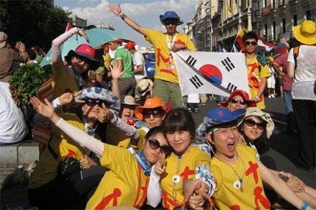 Juventud espera al Papa en Corea