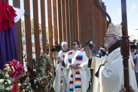 Misa frontera obispos norteamericanos