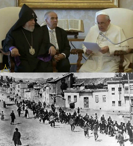Armenios y el Papa Francisco