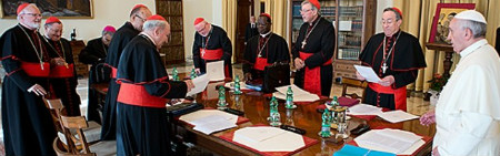 G9 se reune temas nuncios y obispos