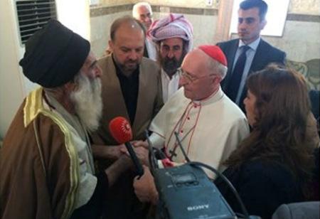 Cardenal Filoni en Irak