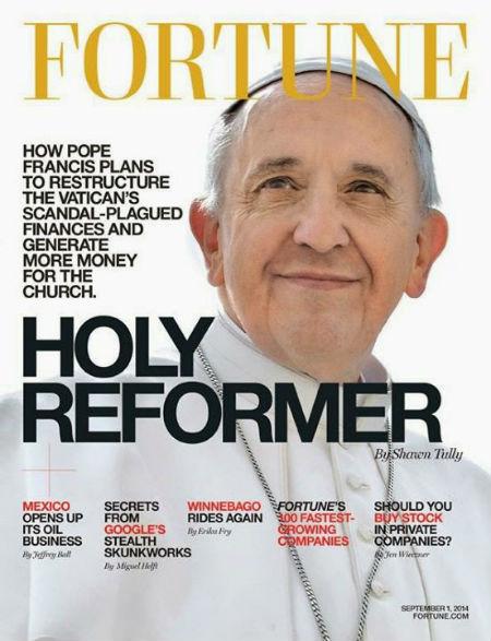 Papa revista Fortune