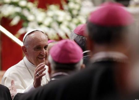 Papa mensaje a nuevos obispos