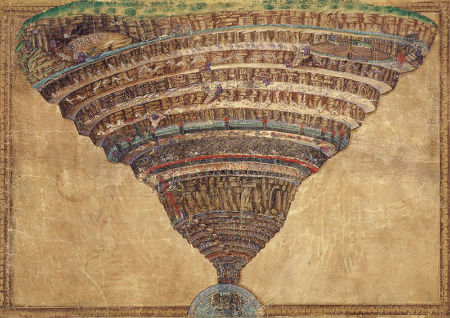 Divina comedia Botticelli