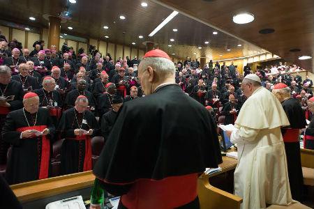 Mensajes del Papa en el Sínodo