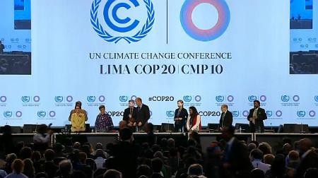 Mensaje Papa Francisco a la COP20