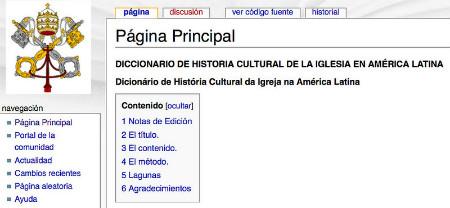 Diccionario de historia cultural de la Iglesia en América Latina