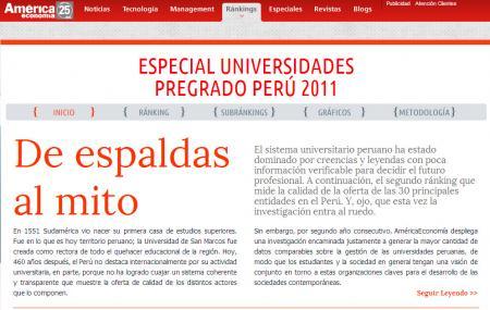 Ranking UPerú AE 2011