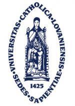 Escudo compartido por las 2 Universidades Católicas de Lovaina: flamenca y valona
