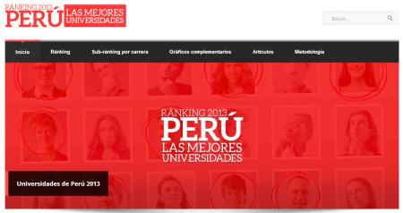 ranking universitario AEPerú2013