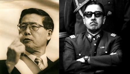 Fujimori y Pinochet