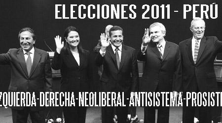 Elecciones presidenciales 2011 - Perú