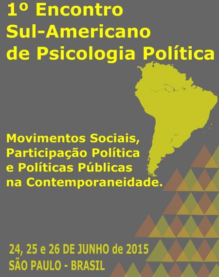 Primer Encuentro Sudamericano de Psicología Política