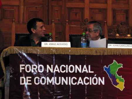 Foro Nacional de Comunicación
