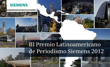 Premio Latinoamericano de Periodismo Siemens 2012