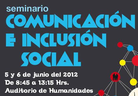 Seminario Comunicación e Inclusión Social