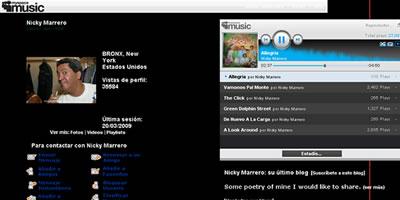 website de Nicky Marrero