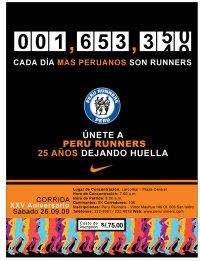xxv peru runners