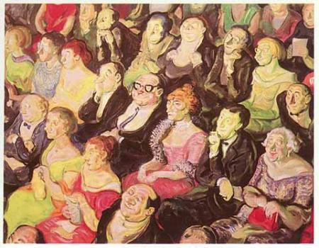A. Paul Weber, Das Publikum