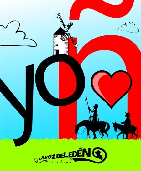 dia del idioma español 23 abril cervantes saavedra don quijote mancha dibujo ilustracion