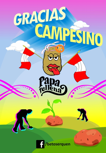 dia del campesino 24 junio inti raymi san juan papa rellena comida peruana beto serquen voz eden mistura