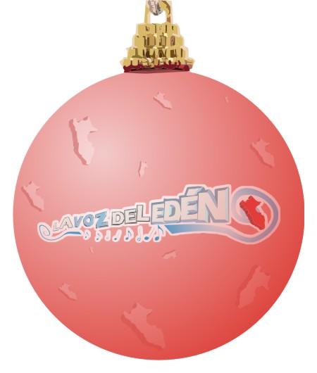 bola de navidad de la voz del edén