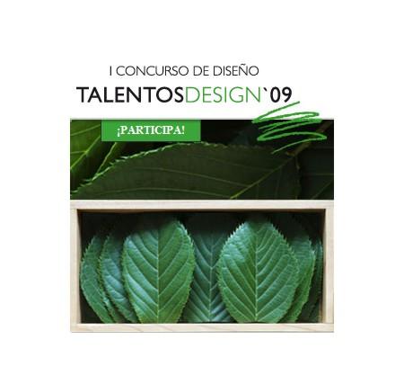i concurso de diseño talentos design 09