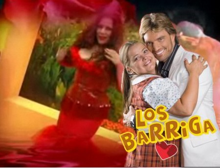 """Telenovela """"Los Barriga"""" de TC y Frecuencia Latina. Monique Pardo y su """"Corre la bola, bola bonita"""""""