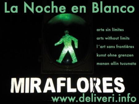 SEGUNDA NOCHE EN BLANCO LIMA 2009