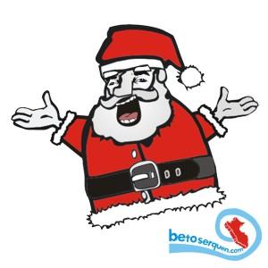 papnoel navidad santa claus merry christmas ilustracion dibujo viejo pascuero