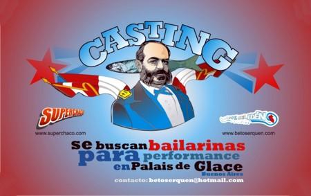CASTING BAILARINAS SUPERCHACO Y LA VOZ DEL EDEN BICENTENARIO BUENOS AIRES