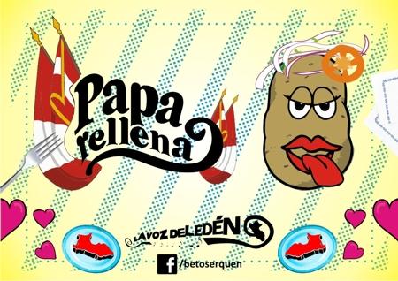 comida peruana papa rellena cancion beto serquen