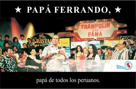 dia del padre peruano peru augusto ferrando trampolin a la fama