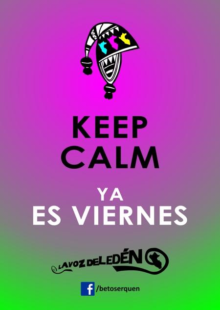 keep calm viernes diseño peru peruano chullo dibujo vector queen beto serquen la voz del eden pucp arte comunicador diseañador peruvian