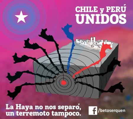 terremoto chile arica iquique la haya tacna peru beto serquen diseño grafico artista