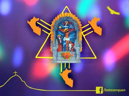 señor de los milagros diseño procesion 28 octubre peruvian design pucp catolica arte artista
