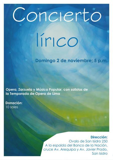 2 de noviembre - San Isidro, Lima