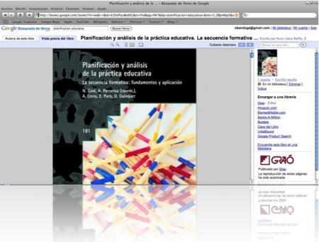 Planificación educativa: libro en línea