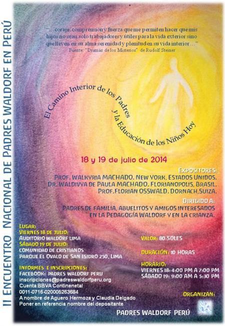 Evento Conferencia Waldorf Peru