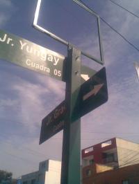 esquina