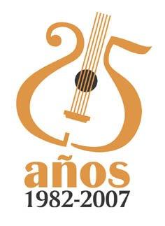 Logotipo de aniversario. Gabriel Rodriguez. http://disenoperu.blogspot.com/